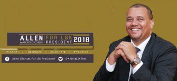 Allen Elected LSK President 2018
