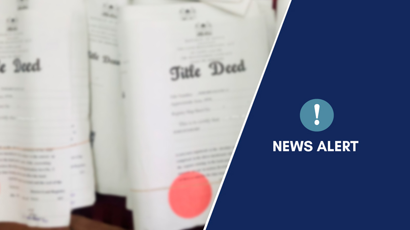 News Alert: Appointment of valuers in private practice.